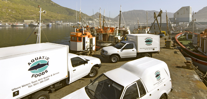 Vehicles in Harbour